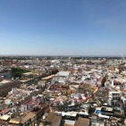 view from la giralda tower