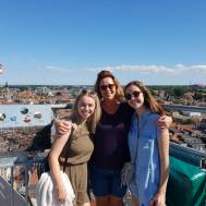 on top of st. laurence cathedral!