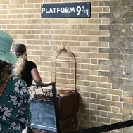 harry potter platform at kings cross